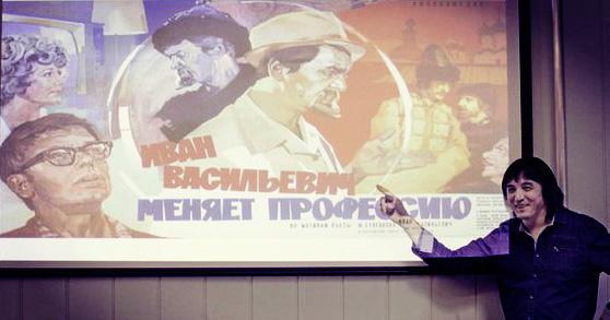 """Саид Абишев автор видеокурса """"Секреты кино""""."""